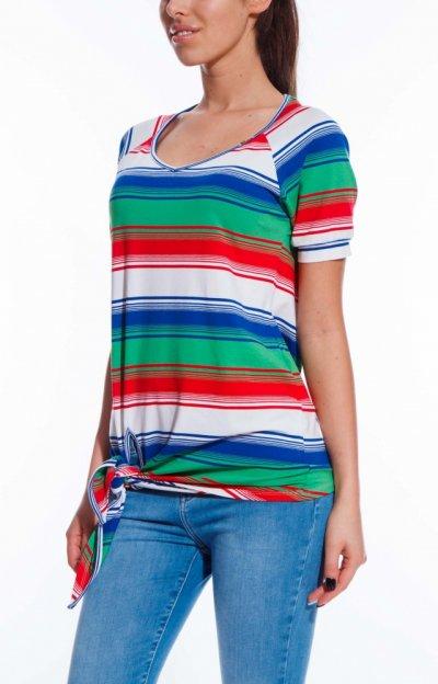 Áfonya Striped Tunic
