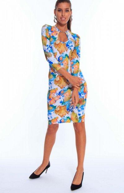 Julie mintás ruha