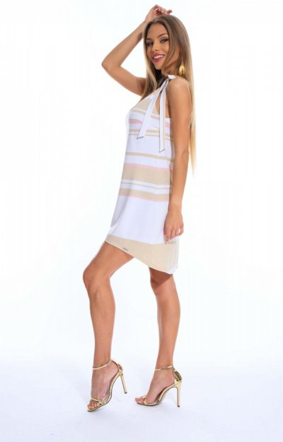 Tisha ruha csíkos