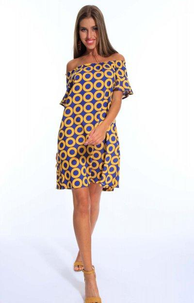 Fran mintás ruha