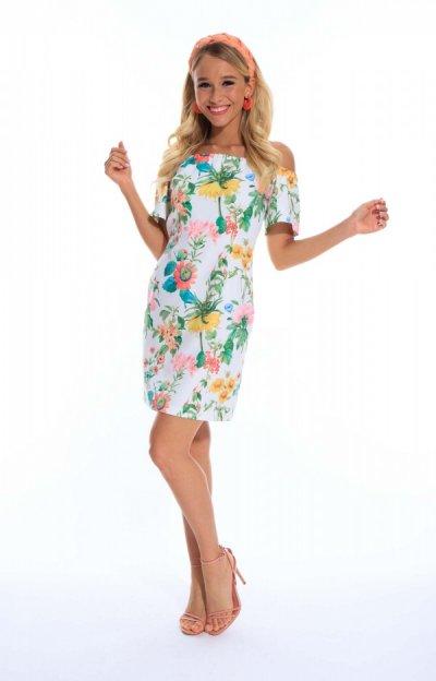 Marion ruha  virágos