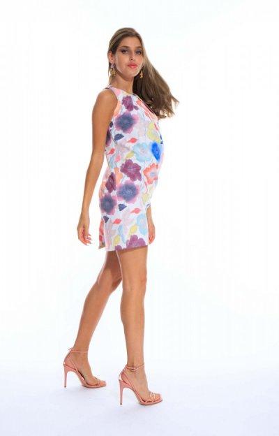 Brigitte ruha virágos