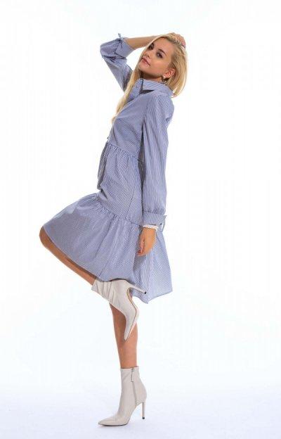 Anjou mintás ruha