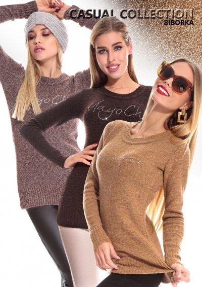 Bíborka pulóver