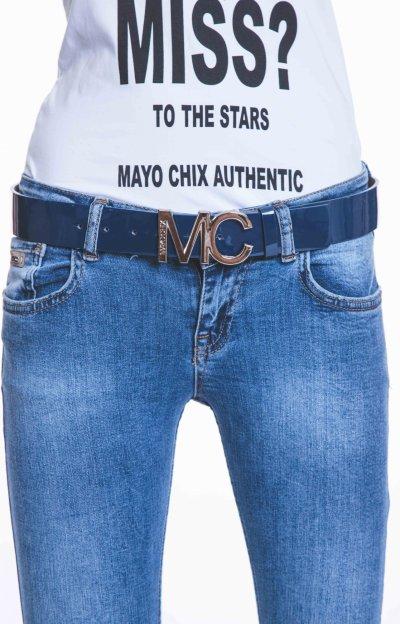 Mark öv MC-ezüst csattal