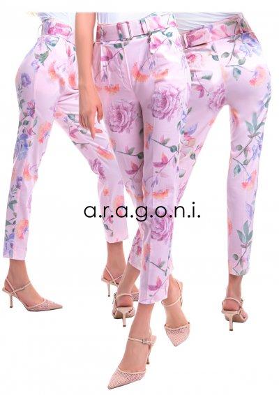 Aragonia virágos nadrág