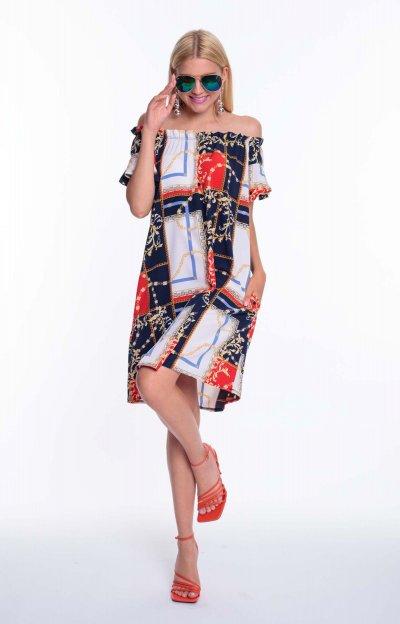 Fran ruha mintás