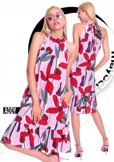 Addy mintás ruha