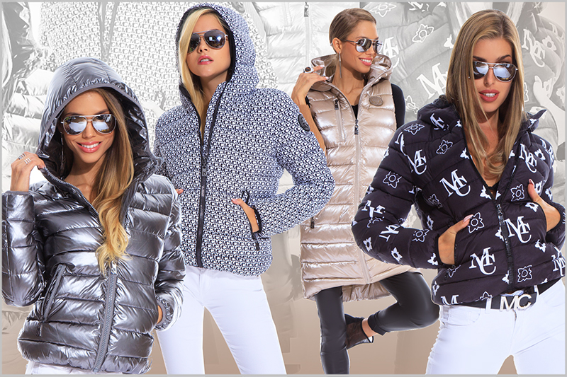Mamba Fekete fehér kigyóbőr mintás jacket Kabát Szőrme